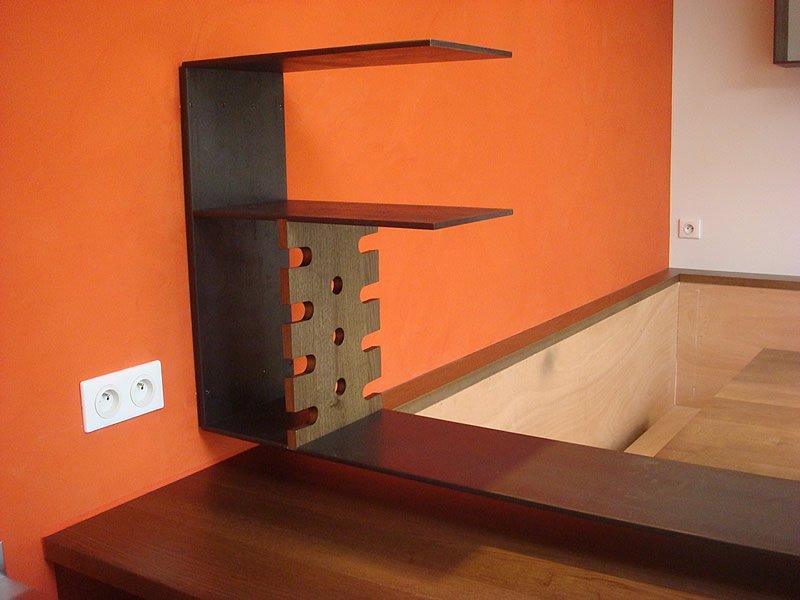 Rénovation de meubles de cuisine en bois par Mobilier du Lac